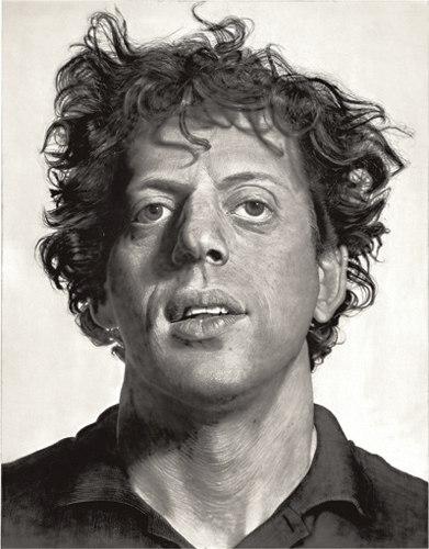 chuck close phillip glass